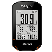 Interface & Ergonomie - Bryton Rider 320