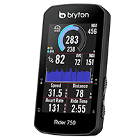Interface performance - Bryton Rider 750