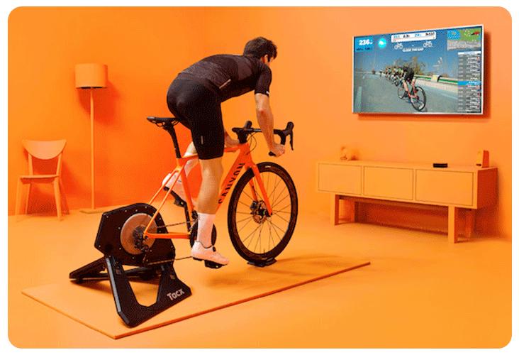 Plateforme d'entraînement Zwift