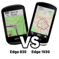 Garmin Edge 830 vs 1030