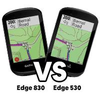 Garmin Edge 830 vs 530