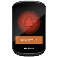 Alarme sur le Garmin Edge 830