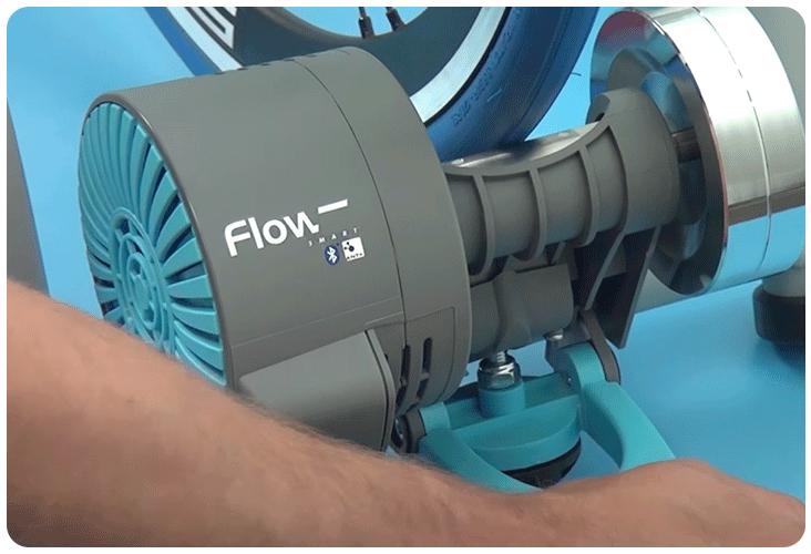 Réglage du rouleau sur le Tacx Flow Smart T2240