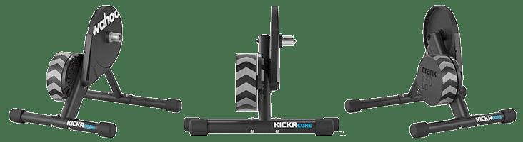 Vue d'ensemble du home-trainer intelligent Wahoo Kickr Core
